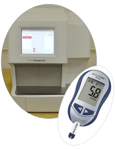 serum chemistry profile device